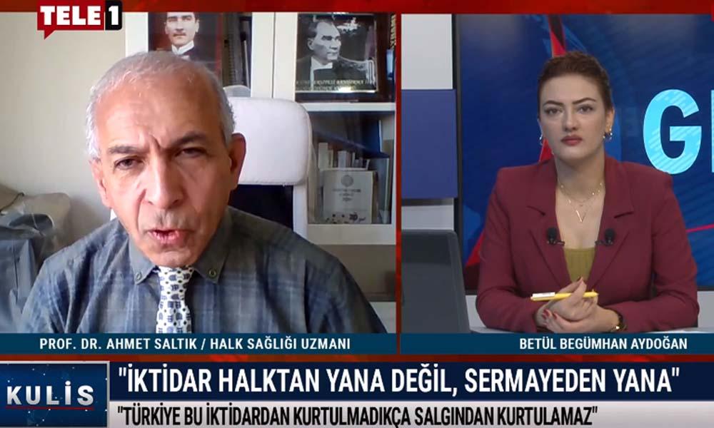 Prof. Dr. Ahmet Saltık'tan TELE1'in kararına destek: Bu bir soykırımdır