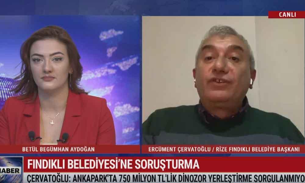 Fındıklı Belediye Başkanı Çervatoğlu: AKP'liler 'Atatürk' ismine ret oyu kullandılar