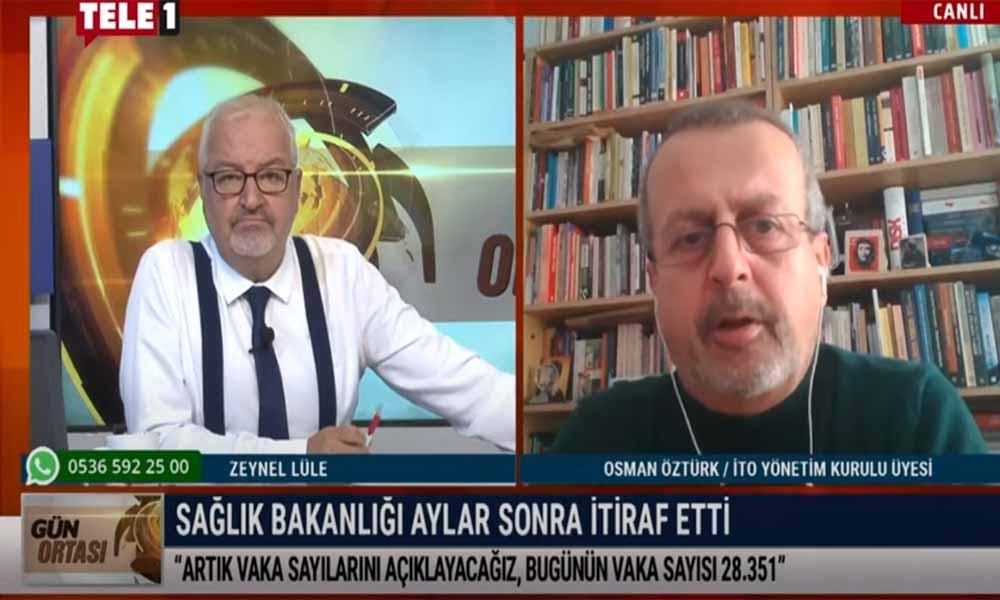 Osman Öztürk: Salgını değil algıyı yönetiyorlar