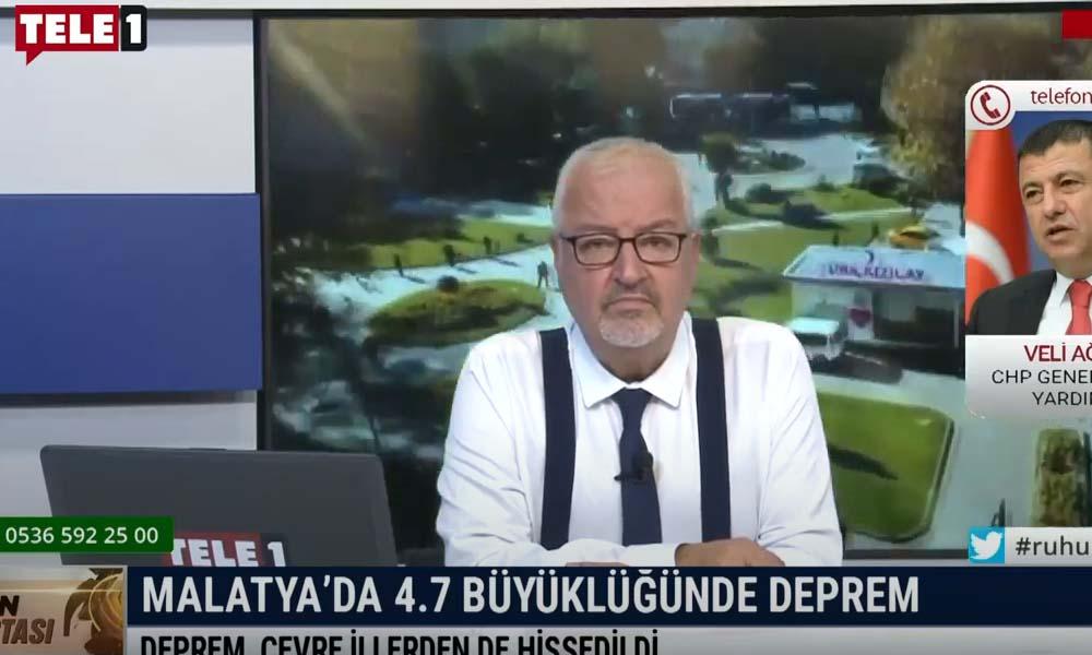 Veli Ağbaba Malatya'daki depremde yaşadıklarını anlattı