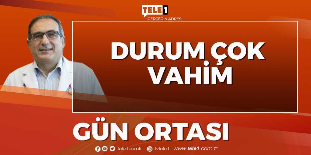 Prof. Dr. Osman Küçükosmanoğlu: Şu an 600 binin üzerinde aktif vaka var; 200-250 bini İstanbul'da