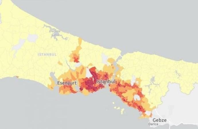 İstanbul'da salgın patladı! İşte İBB'ye göre en riskli ilçeler