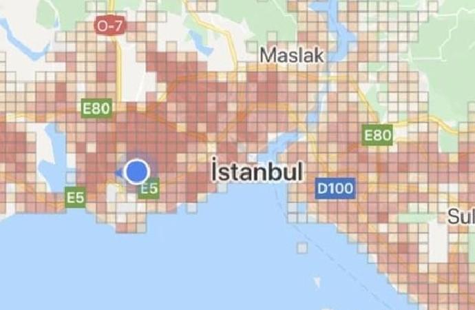 Bakanlık gerçek sayıları açıklamamakta ısrarcı! İstanbul tamamen kırmızıya büründü