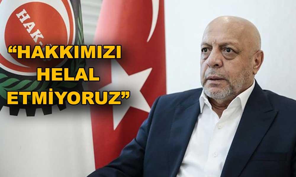 AKP'ye yakın sendika da isyan etti