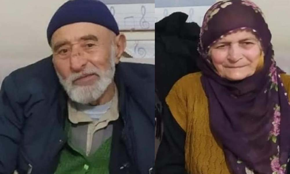 Yaşlı çift, aynı gün koronadan hayatını kaybetti