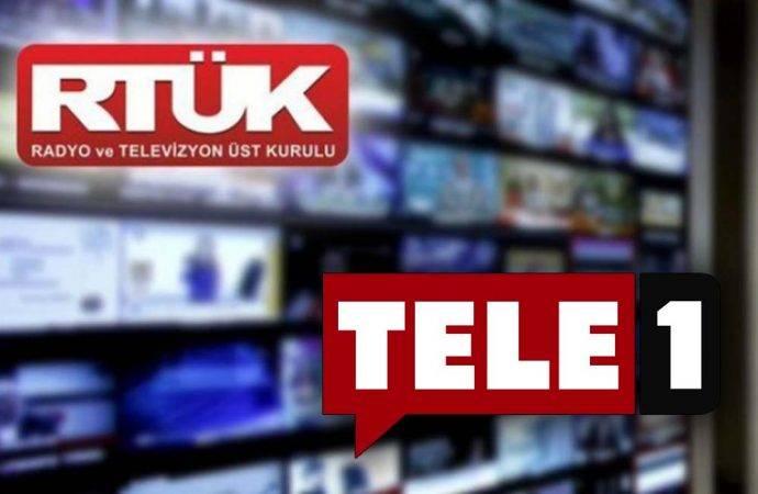RTÜK'ten Tele1'e bir ceza daha!