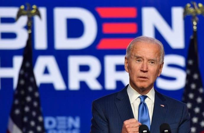 Biden: 74 milyon Amerikalı ülkenin bir araya gelmesini istedi