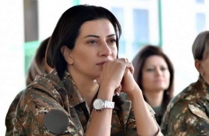 Paşinyan'ın eşi: Kadın birliğimiz Dağlık Karabağ'a gitmeye hazır