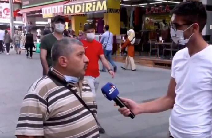 Sokak röportajında AKP'yi eleştiren İsmail Demirbaş tutuklandı!