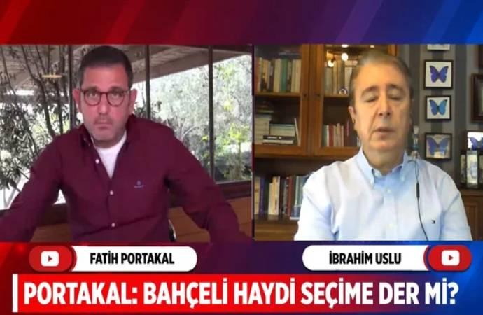 İbrahim Uslu: Bahçeli, 2021'in ikinci yarısında erken seçim çağrısı yapacak
