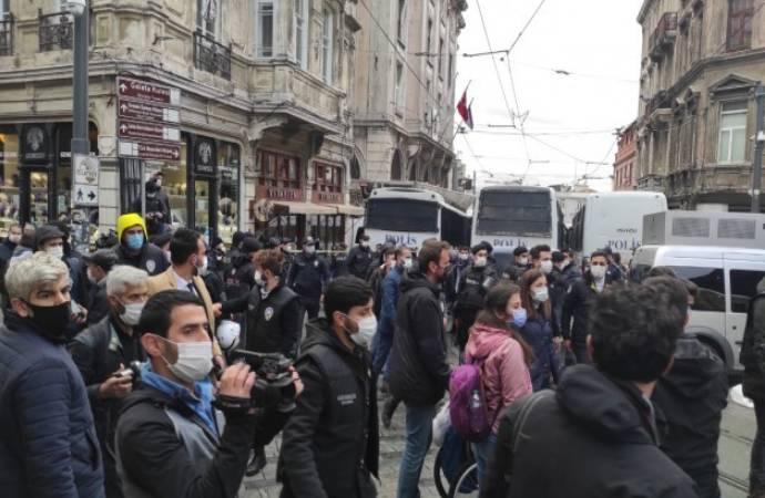 HDP'nin 'DTK' protestosuna müdahale: Gözaltına alınanlar serbest bırakıldı