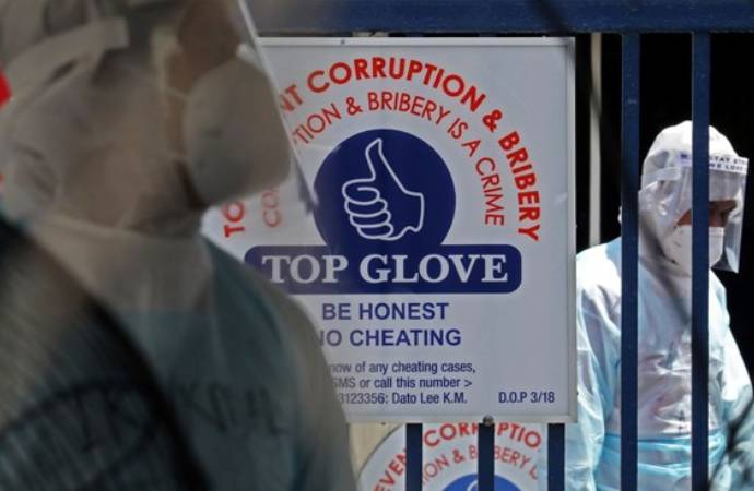 Dünyanın en büyük maske şirketi koronavirüs nedeniyle dolayı kapatıldı