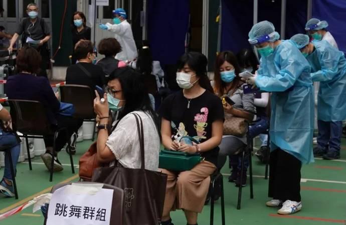 Hong Kong'da dikkat çeken uygulama: Testi pozitif çıkana 645 dolar