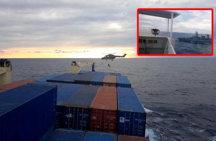Almanya'dan Türk gemisindeki aramaya ilişkin açıklama