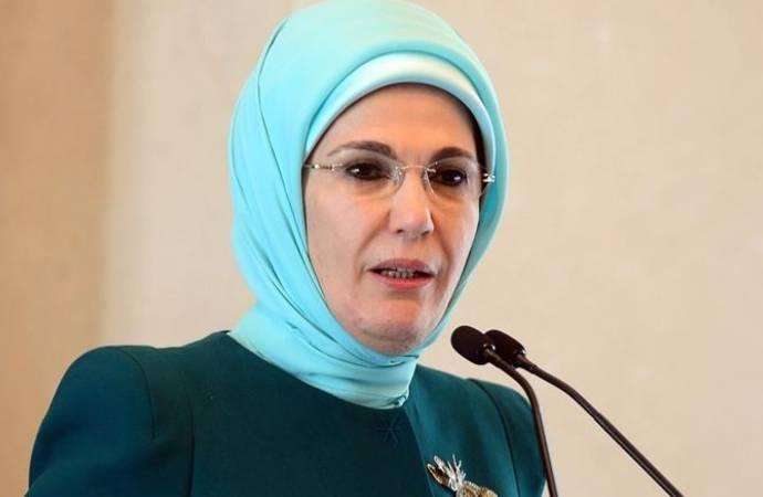 Emine Erdoğan: Mafya babaları, katiller, zorbalar rol model olamaz