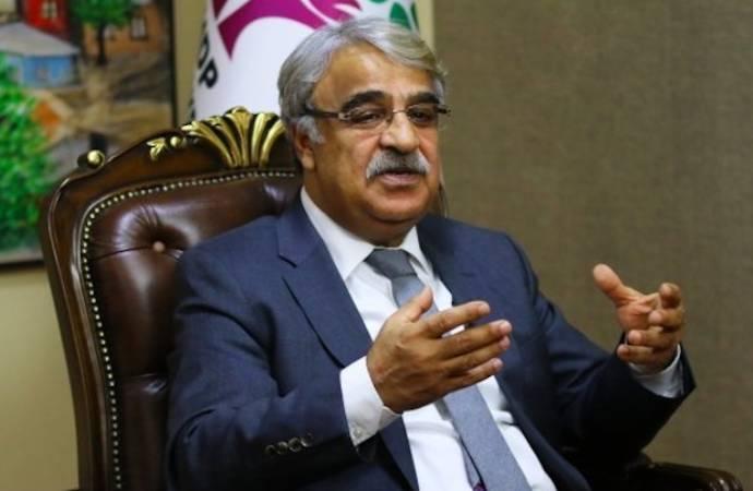 HDP Eş Genel Başkanı Sancar'dan Demirtaş'a yönelik 'terör' suçlamalarına sert tepki