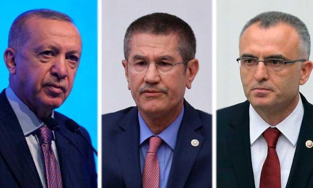 Berat Albayrak'ın istifasının ardından Erdoğan'ın konutunda sürpriz toplantı