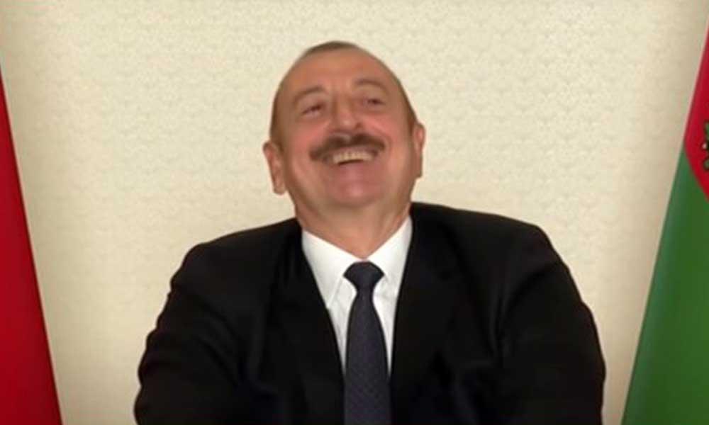 Aliyev'in Paşinyan'la dalga geçtiği video sosyal medyada gündem oldu