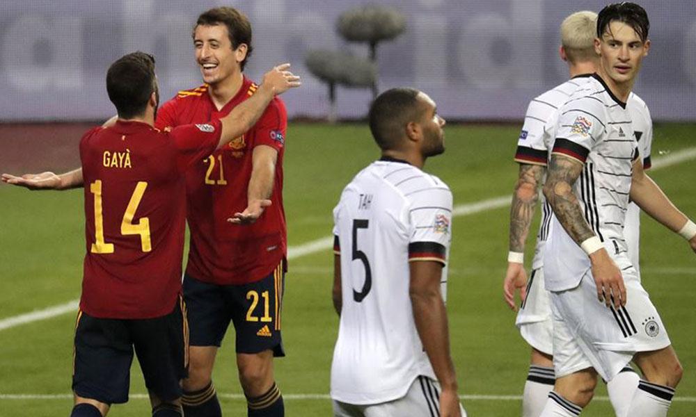 Tarihi galibiyet! İspanya, Almanya'yı ezdi geçti