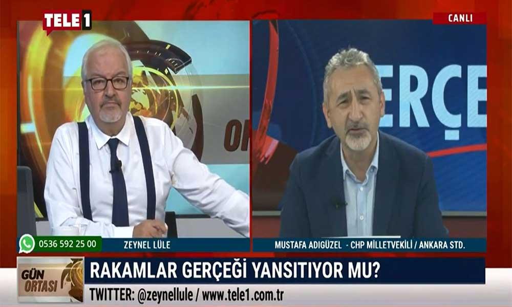 TELE1'e konuşan CHP'li vekil, 'gerçek' ölüm ve vaka sayısını açıkladı!