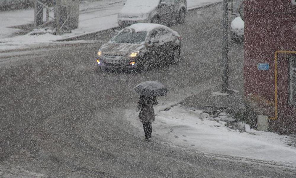 Meteorolojiden sağanak yağış ve kar uyarısı