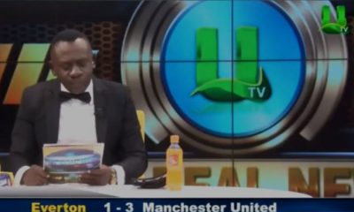Ganalı spikerin maç sonuçlarını okuduğu anlar sosyal medyada viral oldu