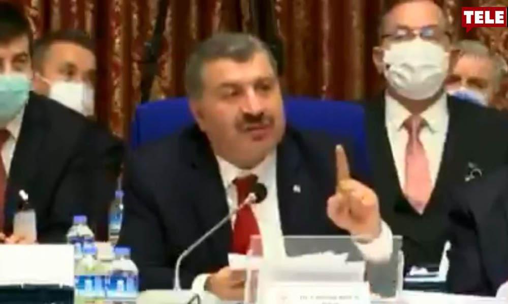 Milletvekilleri sordu, Fahrettin Koca sinirlendi: Sizin için bu mu önemli?