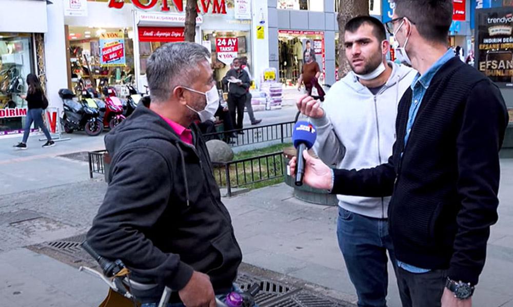 'Evime ekmek götüremiyorum' diyen vatandaşa pes dedirten yanıt: Kürdanla dişini karıştırıyor