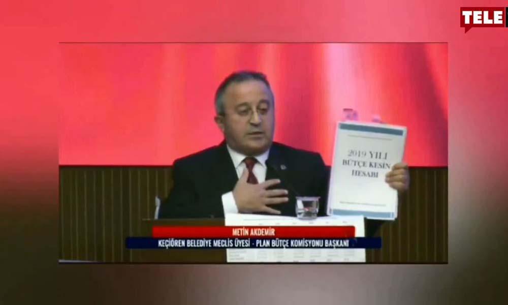 Mansur Yavaş'ı eleştirmeye çalışan AKP'li meclis üyesi alay konusu oldu