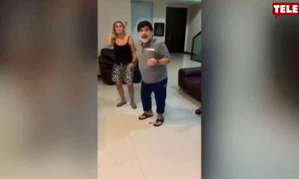 Hayatını kaybeden futbolun efsanesi Maradona'nın son görüntüleri ortaya çıktı