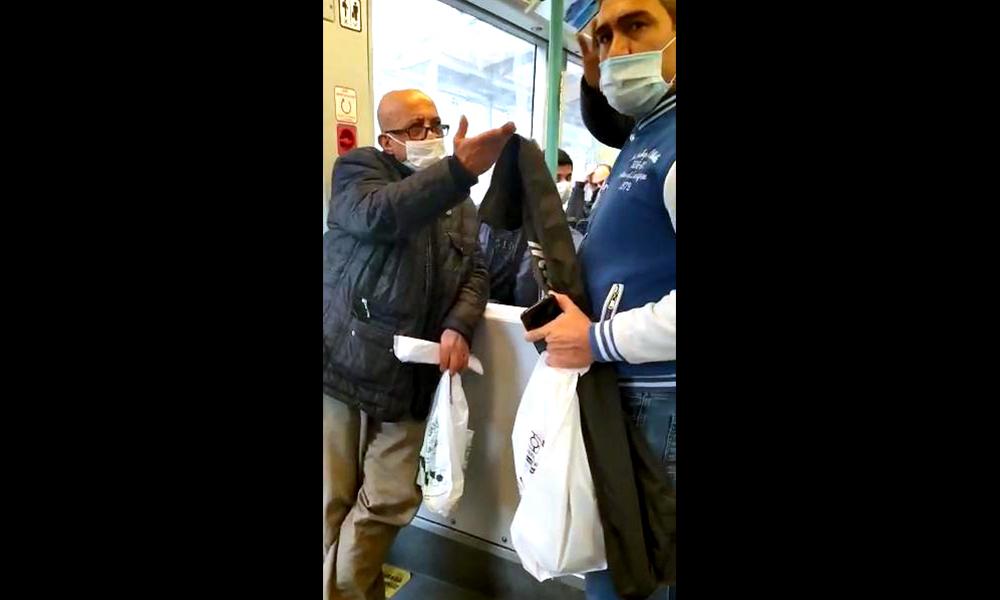 Tramvayda maske tartışması: Neyin peşindesin?