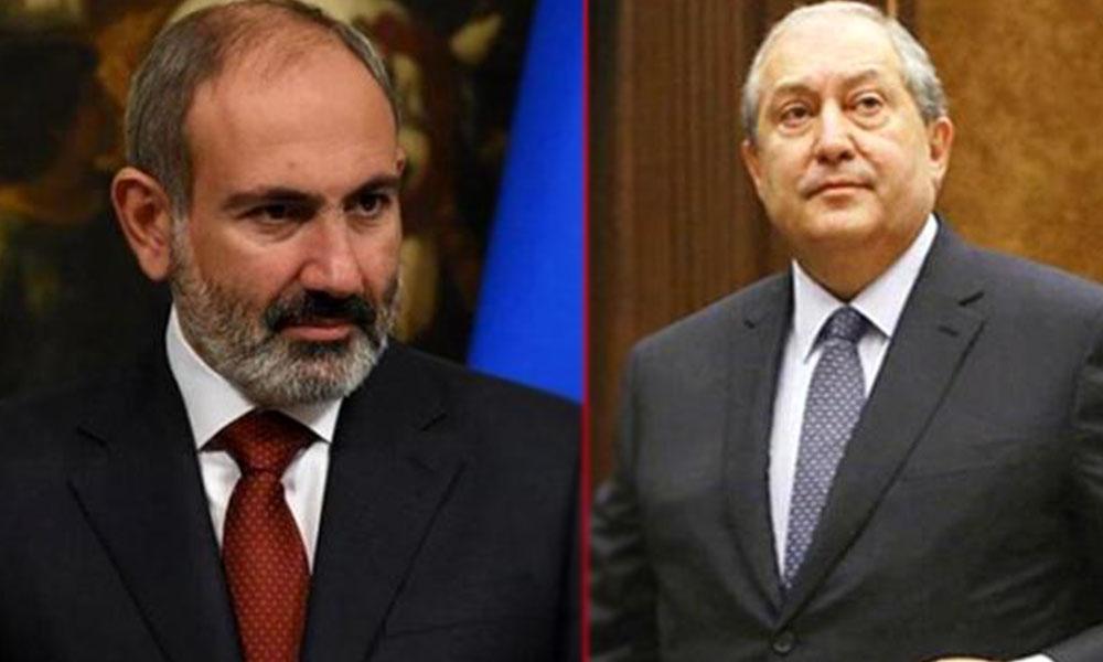 Ermenistan Cumhurbaşkanı Sarkisyan'dan Paşinyan'ı zora sokacak çağrı