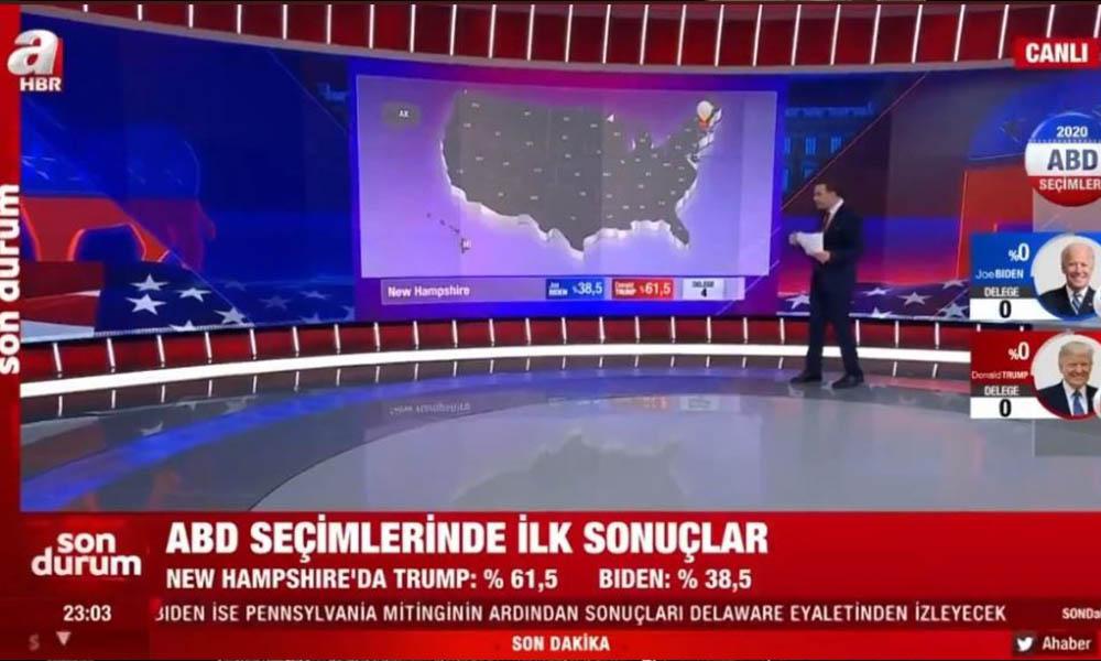 A Haber yine şaşırtmadı! AKP'den sonra Trump'ın yandaşlığına soyundu