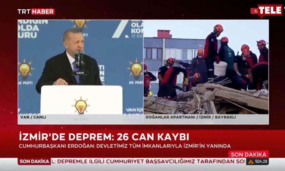 TRT'den pes dedirten 'deprem' yayını: Sözün bittiği yerdir