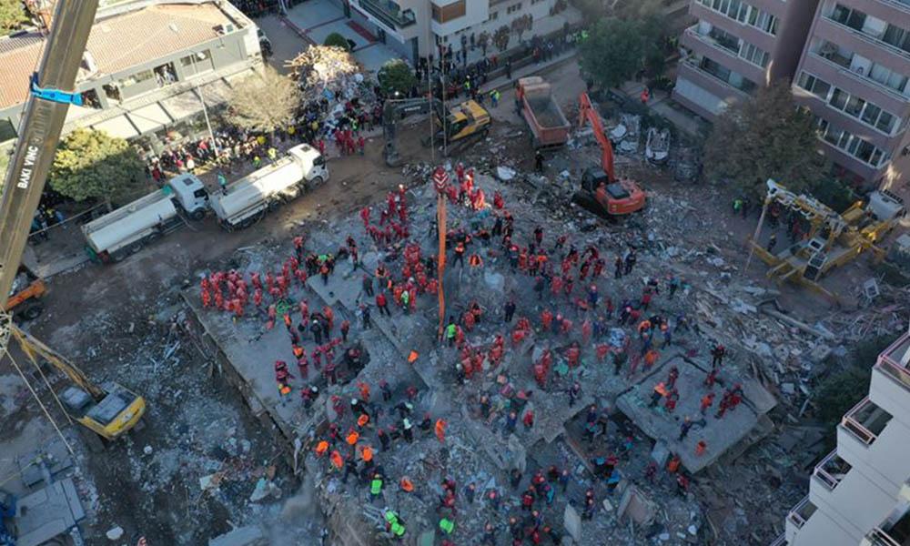 6.9'luk deprem sonrası skandal 'Rıza Bey Apartmanı' paylaşımı