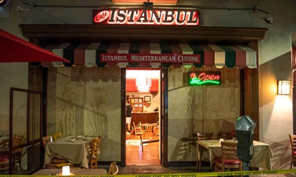 ABD'de Ermeni grup, 'Cafe İstanbul' adlı Türk restoranına saldırdı