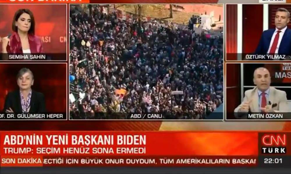 CNN Türk'te gergin anlar! Yandaş Metin Özkan ve Öztürk Yılmaz birbirine girdi