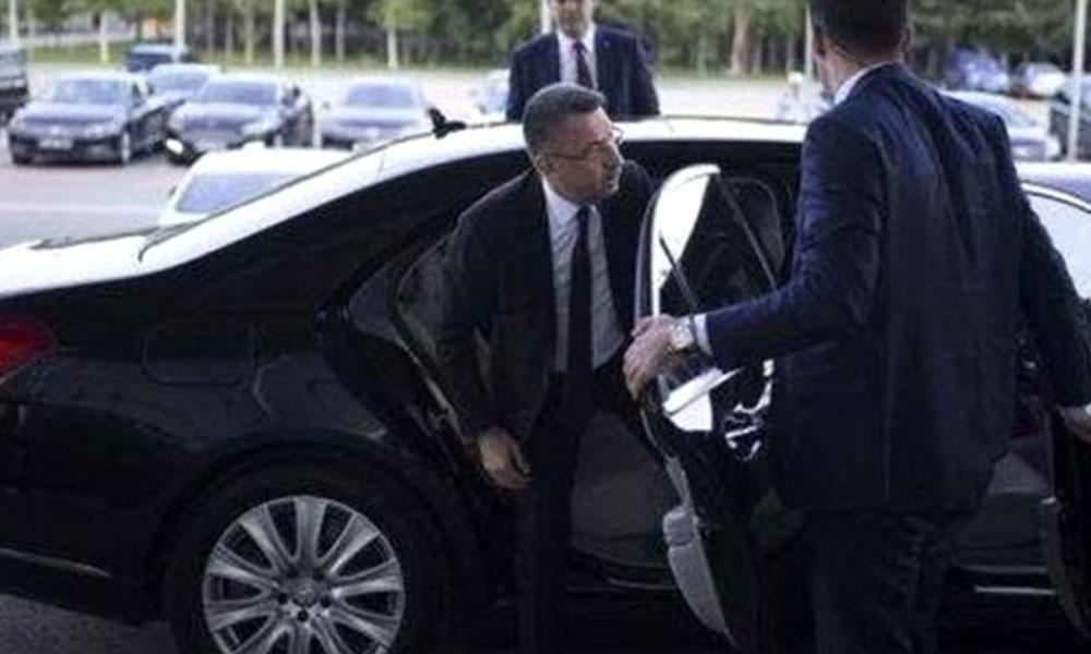 10 milyon TL'lik Mercedes'e binen Fuat Oktay'tan pes dedirten savunma