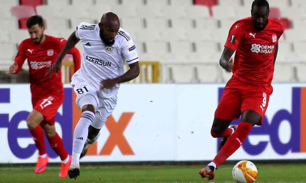 Sivasspor, Karabağ'ı mağlup etti