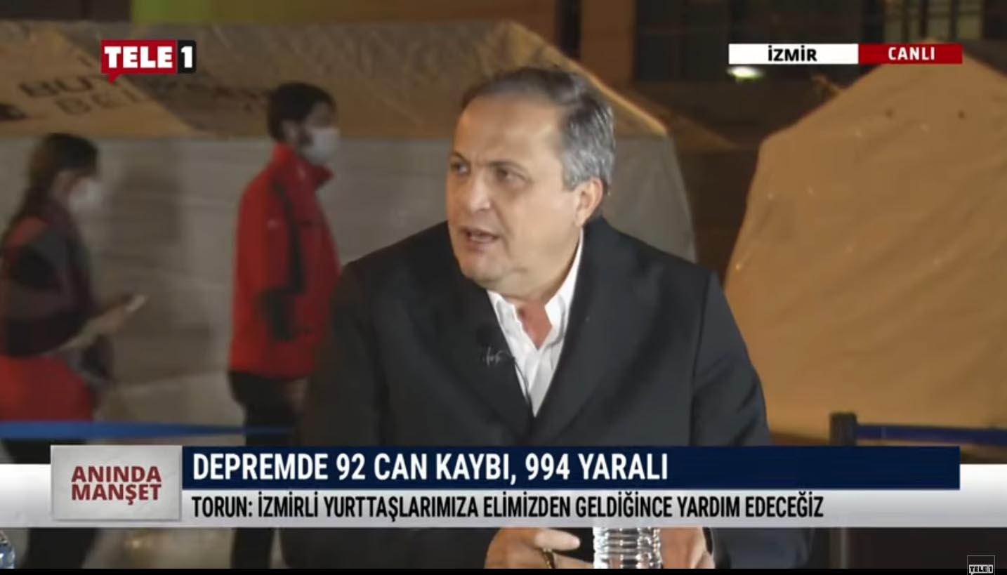 """CHP Gn. Bşk. Yrd. Seyit Torun """"Deprem mağduriyeti üzerinden siyaset yapılmaz"""" – ANINDA MANŞET"""