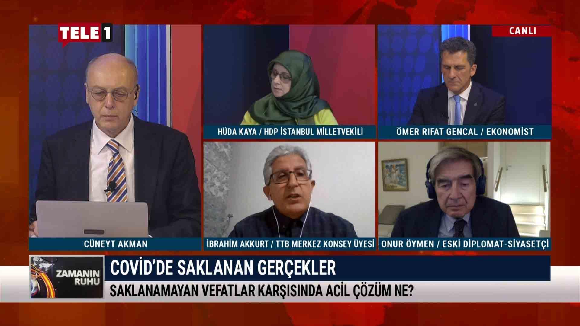 Onur Öymen: Türkiye, hibrit rejimler kategorisinde 110.sırada