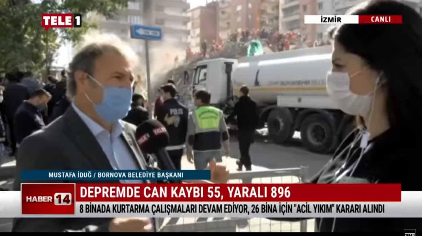 Mustafa İduğ: Vatandaşlarımız eşyalarını almak için binalara girmemeli
