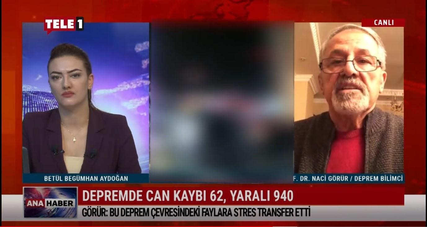 Prof. Dr. Naci Görür: İzmir'de beklenen deprem bu deprem değil