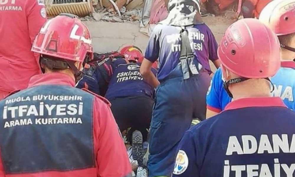 Adana Büyükşehir ekibi İzmir'de hayat kurtarmak için sürdürülen çalışmalara katılıyor