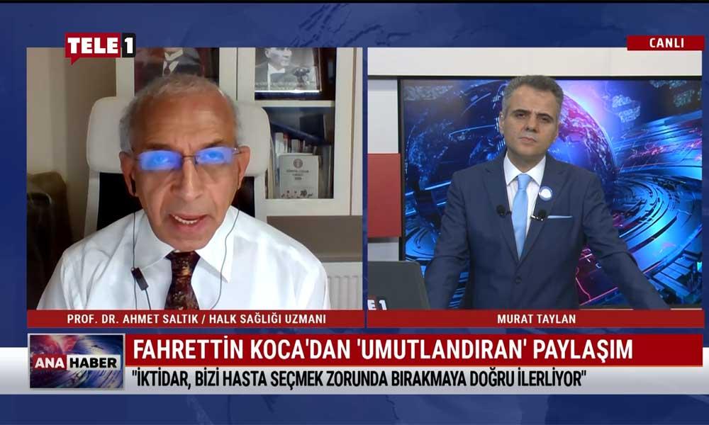Prof. Dr. Ahmet Saltık: Hükümet önlem almadığı için maskeye en az 1 yıl daha mahkumuz