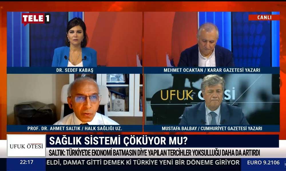 Prof. Dr. Ahmet Saltık: Salgın Türkiye'de artık denetimden çıktı