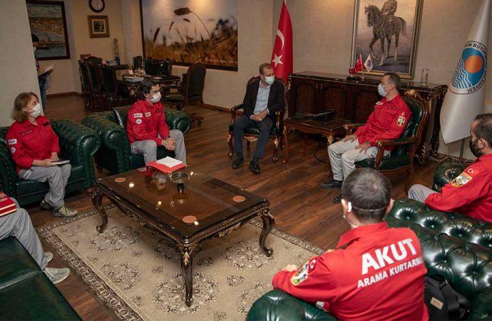 Mersin Büyükşehir, AKUT'la işbirliğine hazırlanıyor