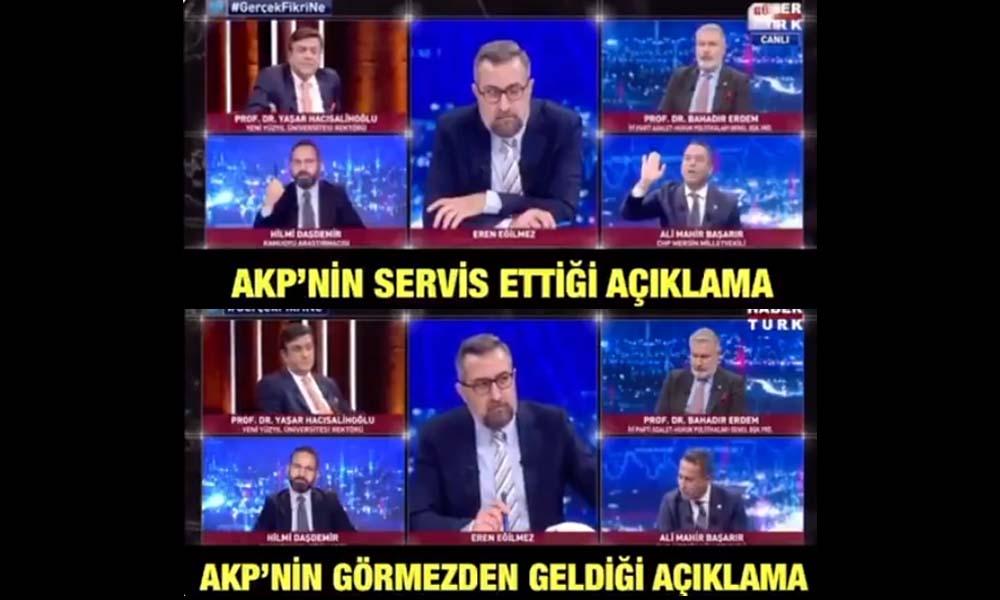 CHP'li vekil paylaştı: AKP'lilerin görmezden geldiği açıklama