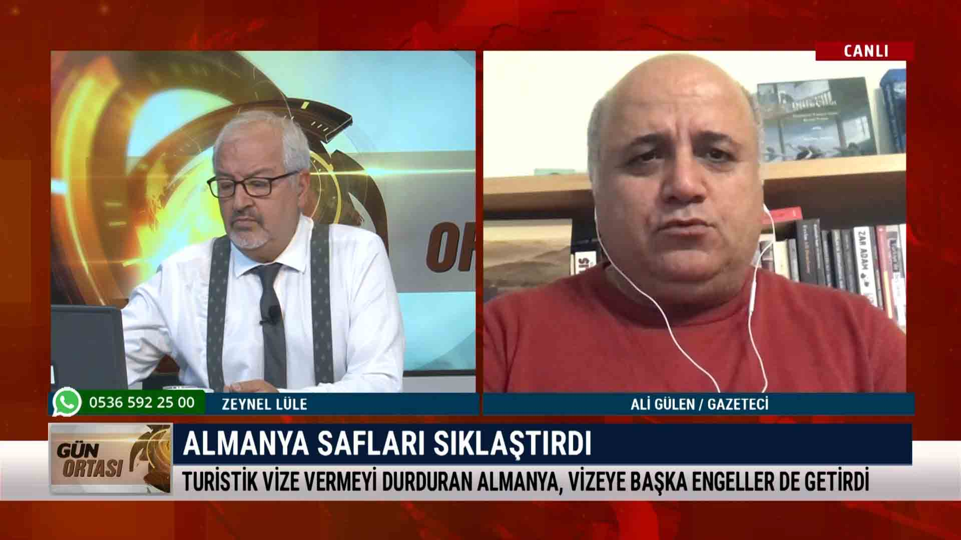 Ali Gülen: Almanya safları sıklaştırdı