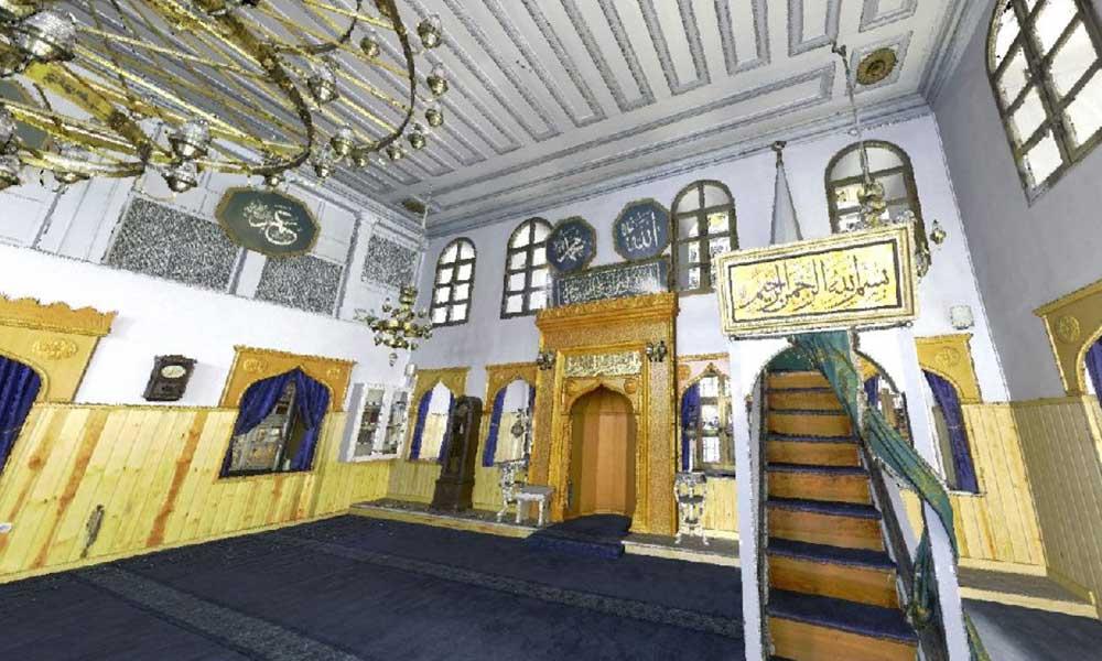 Yanan Vaniköy Camii'den sevindiren haber…